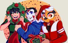 — Hello, let's get festive! I'm going Christmas. H20 Delirious, Mini Ladd, Bbs Squad, Vanoss Crew, Find Memes, Banana Bus Squad, Youtube Gamer, Markiplier, Best Youtubers
