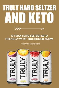 Is truly hard seltzer keto friendly? What you must know before consuming! Mango Vodka, Mango Lemonade, Cherry Lemonade, Alcoholic Drinks Keto, Keto Cocktails, Keto Drink, Keto Diet Alcohol, Mikes Hard Lemonade, White Claw Hard Seltzer