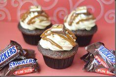 Miranda's Snickers Cupcakes
