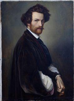 Alexander Heubel, self-portrait