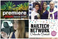 Vlog ♡ Nail Tech Social | Orlando Premiere Beauty Show