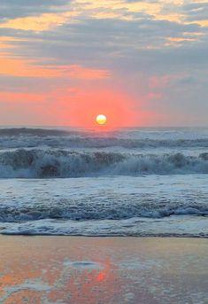 Beautiful Nature Scenes, Beautiful Nature Wallpaper, Amazing Nature, Beautiful Landscapes, Beautiful Places, Beautiful Sunrise, Strand Wallpaper, Sunset Wallpaper, Beach Night
