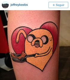 adventure time tattoos #adventuretime #tattoos http://www.brisaink.com.br/2014/adventure-time-tattoos/