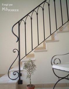 rampe fer forge pour escalier contemporain