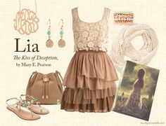 Lia from The Kiss of Deception by Mary E. Pearson A modern take on Lia