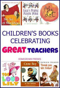 children's books celebrating great teachers