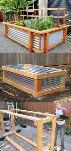 28 most amazing raised bed gardens, with different materials, heights, and many creative variations. Great tutorials and ideas on how to build raised beds ! A Piece of Rainbow diy garden backyard 28 Amazing DIY Raised Bed Gardens Outdoor Projects, Garden Projects, Ideas Para Decorar Jardines, Pergola Diy, Building A Raised Garden, Diy Raised Garden Beds, Raised Bed Garden Layout, Raised Bed Diy, Raised Flower Beds