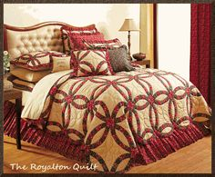 Country bedding Cal King Size, King Size Quilt, Queen Quilt, Bed Nook, Country Bedding, Trendy Home, Quilt Bedding, King Beds, Bedding Collections