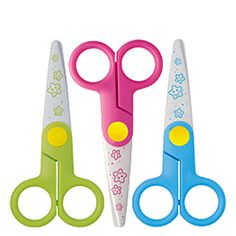 These are the best toddler scissors ever! No other scissors in competition. They cut only paper. I tried cutting my hair, my clothes my own fingers and nothing! But it will cut through paper like a hot knife through butter. $2.95