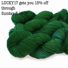 Weekend sale! Happy st Patrick's day!