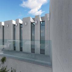 #arquitectura #architecture #diseño #design #fachadas #piedracaliza #white #bluesky #maclac #almendralycancio #quality #saveenergy #viviendadelujo #luxury #sotograndedochills