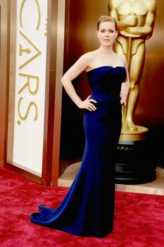 Amy Adams with Gucci dress in Oscars 2014