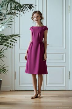 711cdcb3cca Pink Peacock dress (pink peacock) – shop online on Livemaster with shipping
