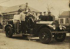 Houston Fire Department fire engine, 1929. #Houston #History