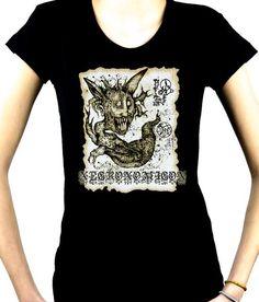 Necronomicon Demon Women's Babydoll Shirt Book of the Dead