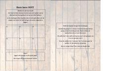 Dit is de hoekenkaart van de houthoek. Deze ligt op de bank wanneer de leerlingen in de hoek komen. Eerst lossen ze deze kleine oefening op in groep en daarna gaan ze aan de slag met de andere opdrachten!
