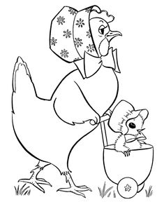 Easter Chick Coloring Pages - Baby stroller chick easter coloring pages Motif Vintage, Vintage Embroidery, Embroidery Applique, Vintage Patterns, Cross Stitch Embroidery, Embroidery Patterns, Machine Embroidery, Easter Coloring Pages, Printable Coloring Pages