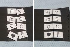 DIY - Cartão Amo Você - Namorada Criativa - 07 Thing 1, Valentines Diy, Advent Calendar, Diy And Crafts, Love, Holiday Decor, Flowers, Birthday Cards For Boyfriend, Birthday Surprise Boyfriend