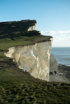 Walk to Seaford Head, East Sussex, England