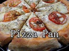 "Pizza Pan Massa bem fofinha ""TIPO"" pizza Hut (por Fernando Couto) - YouTube"
