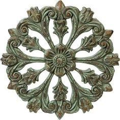 Prime Décor Collection Architectural Wall Medallion 19.25 inch d x 19.25 inch w x 1.5 inch