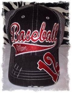 Personalized+Baseball+Mom+Hat+by+RebelChicks+on+Etsy,+$40.00