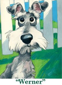 commission a #dog painting... I love this style. May have to send my Shelby's pic in for a commissioned portrait!