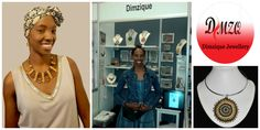 Yvonne Manyiki, founder of Dimzique Enterprise (South Africa) South Africa, Entrepreneur, Handmade Jewelry, Product Launch, African, Passion, Elegant, Lady, Creative