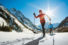 Aspen, Colorado, EUA - É das mais famosas estações de esqui americana. A rede hoteleira inclui desde flats simples a hotéis de alto luxo
