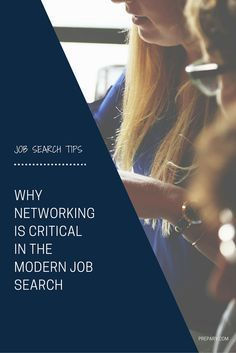 Why networking really matters in the job search