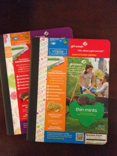 Cynde's Place: Girl Scout Cookie Journals love this idea