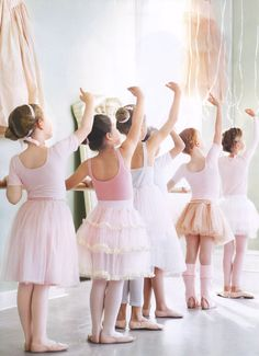 Brings back such sweet, lovely memories :) I remember dressing in all pink and going to ballet class...and I will never forget it.