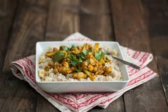 Naturally Ella | Cauliflower and Chickpea Curry | Naturally Ella