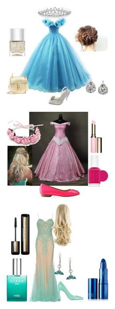 """""""Princesses"""" by coffeeyolo173 on Polyvore featuring Melissa, Nails Inc., Chloé, Bling Jewelry, Clarins, Essie, Love Moschino, Balmain, La Preciosa and CLEAN"""