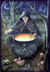 A Dark Goddess of nature, particularly in Scotland, is the Cailleach.  She is the ancient Earth Herself. the bare earth covered with snow and frost.