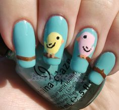 Lacquer Dreams- Lovebirds,, this is adorable!!