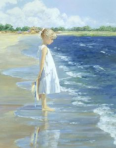 Early Afternoon at Todd's Point by Sally Swatland (b. 1946) # http://www.rehsgalleries.com/browse_by_essay.html?essay=27