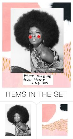 """""""blush"""" by nienkecharlotte ❤ liked on Polyvore featuring art"""