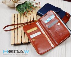 Protect your Galaxy Alphawherever you go! Made of soft and durable synthetic leather, Hera Premium Double Wallet Leather Diary Case will give protection to your cellphonewith a neatand simpledesign!