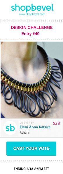 Shop jewelry designs inspired by this trend on www.shopbevel.com.