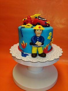 Feuerwehr Sam Torte