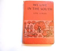 We Live in the South a Vintage Children's by lizandjaybooksnmore