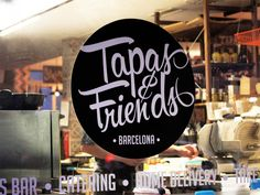 Tapas and Friends Logo
