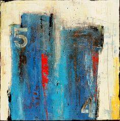 IMMENSE abstraite peinture originale par erinashleyart sur Etsy