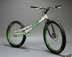 Trial bike, Seat is not needed....