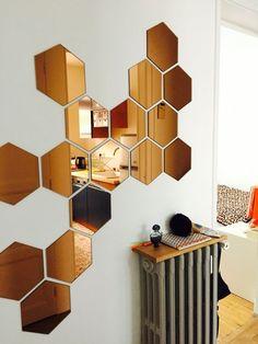 Ceiling Design, Wall Design, House Design, Office Wall Art, Office Walls, Home Interior Design, Interior Decorating, Spiegel Design, Wall Decor