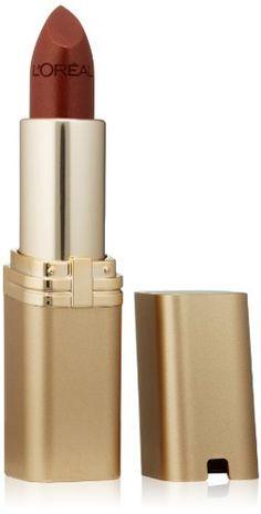 L'Oréal Paris Colour Riche Lipstick, Ginger Spice, 0.13 o...