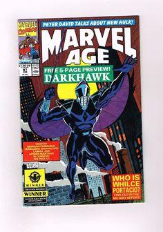 MARVEL AGE #97 Copper Age key: 1st DARKHAWK! Featured in the GOTG 2 movie! 9.6!!  http://www.ebay.com/itm/-/302170260437?roken=cUgayN&soutkn=S4eLIO