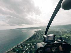Vanuatu, Helicopters, Airplane View