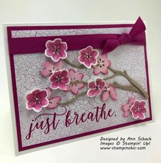 stampin up colorful seasons bundle Stamping Up Cards, Cards For Friends, Sympathy Cards, Paper Cards, Flower Cards, Creative Cards, Greeting Cards Handmade, Scrapbook Cards, Homemade Cards